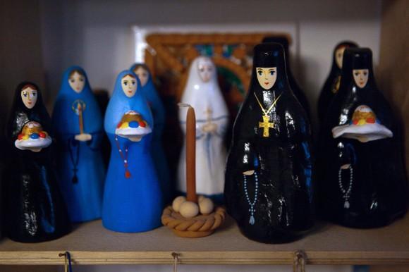 Урок для воскресной школы: панно Монастырь