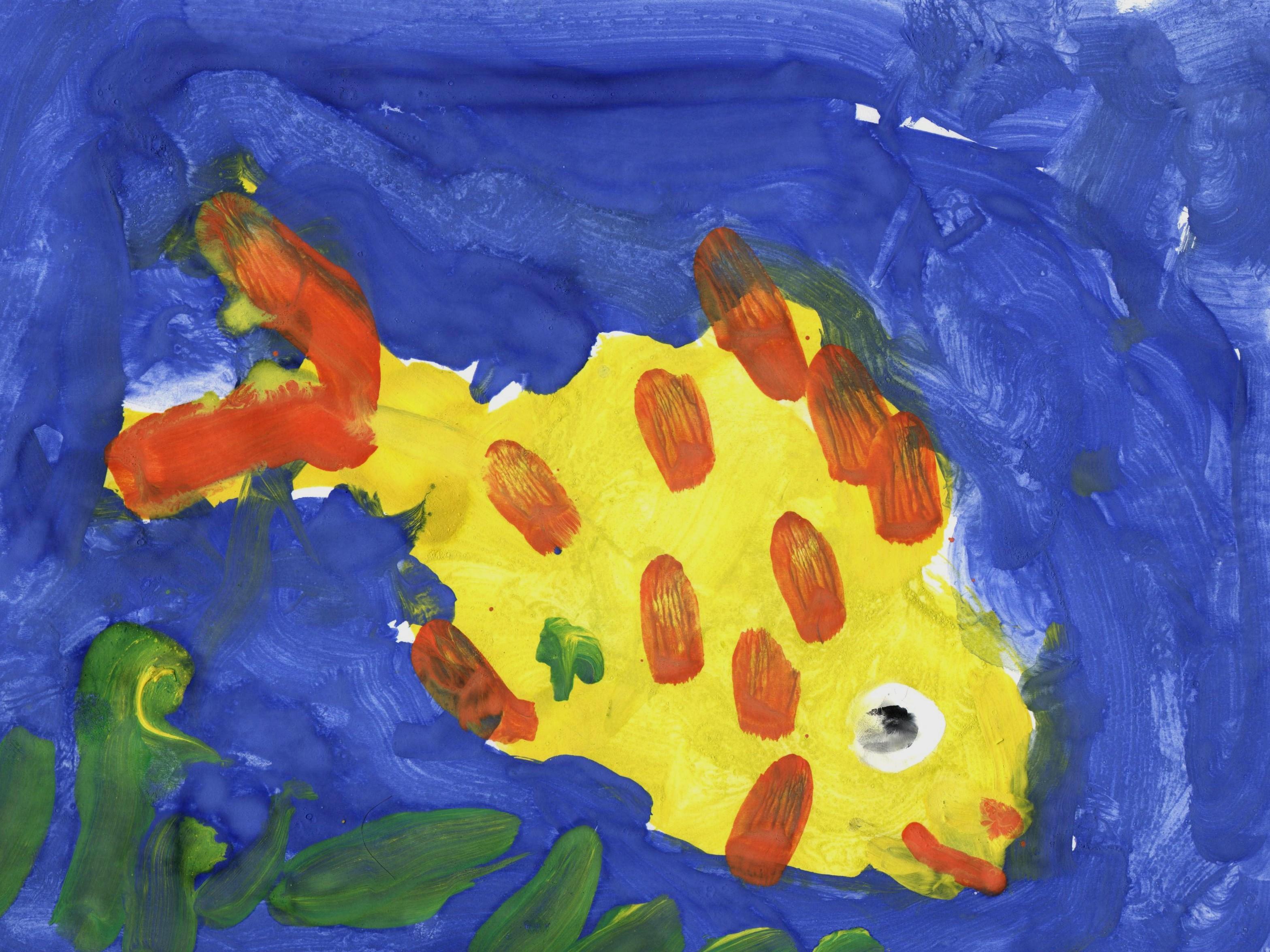 счастью, картинка рыбка средняя группа металлочерепица