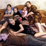 Личное пространство в многодетной семье
