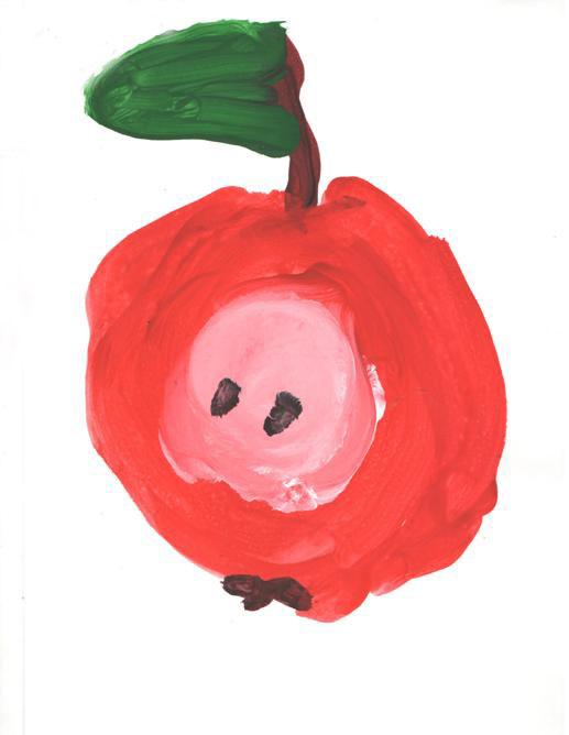 Нарисуем овощи и фрукты