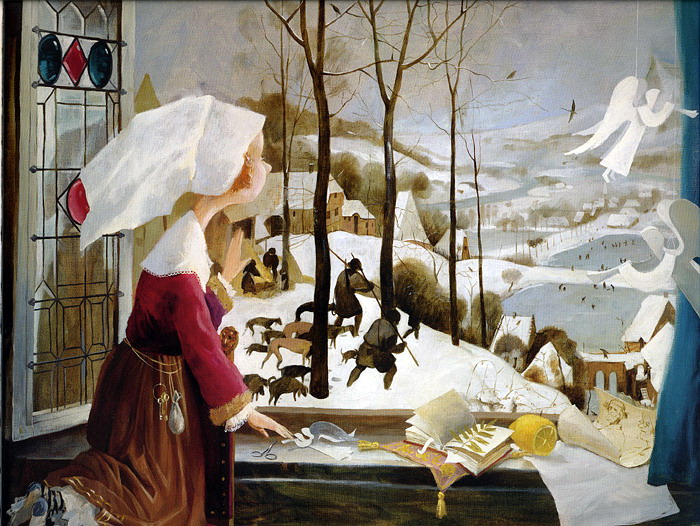 «Зима за окном», Евгения Гапчинская