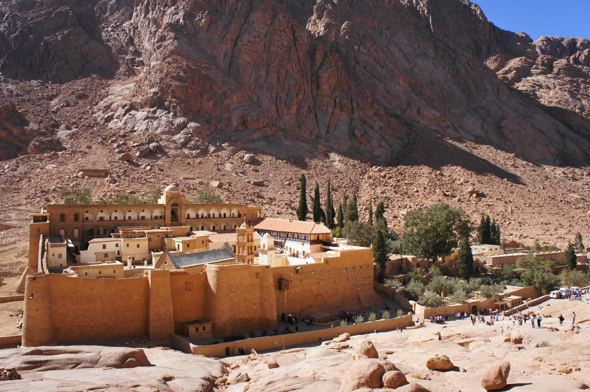 Монастырь св. Екатерины. Синай