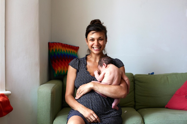 Встреча с ребёнком: проект Первый день малыша ( Фото)
