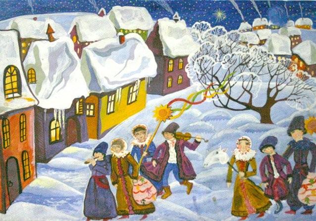 Рождество по-русски, или Как это было