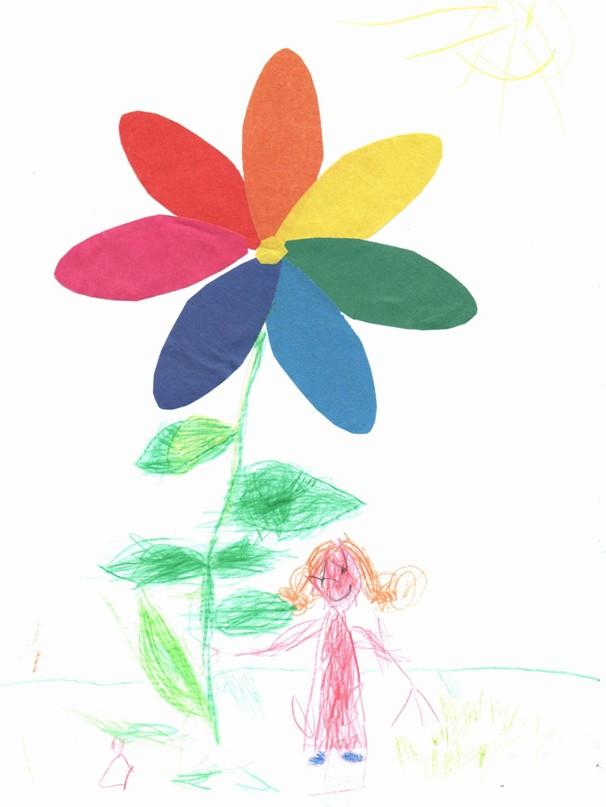 Рисуем цветик-семицветик
