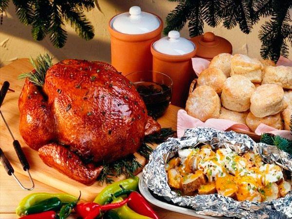 Рождественское застолье: что приготовить