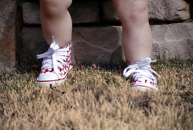 16 милых фотографий детской обуви