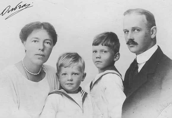 Ольга и Николай Куликовские с детьми