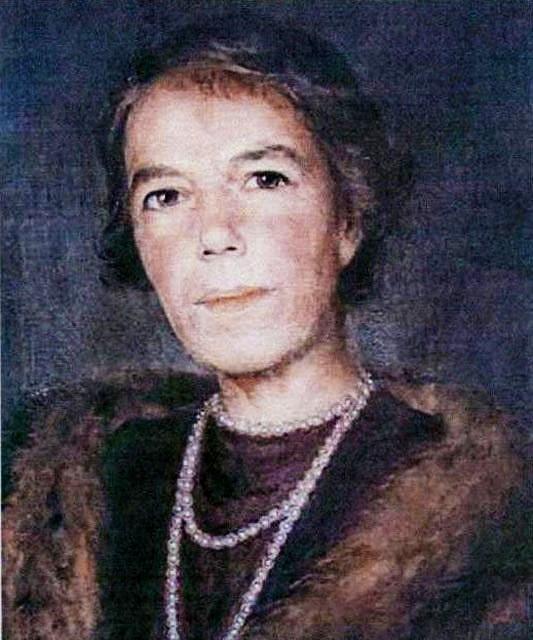 Портрет Ольги Александровны Куликовской-Романовой