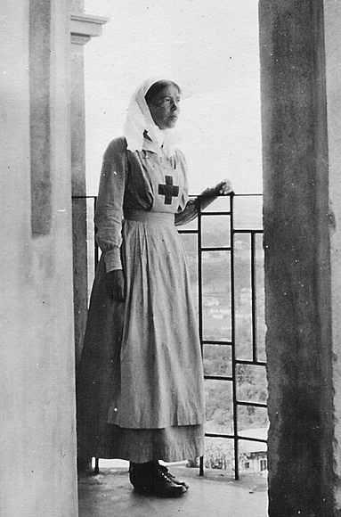 Сестра милосердия Ольга Романова