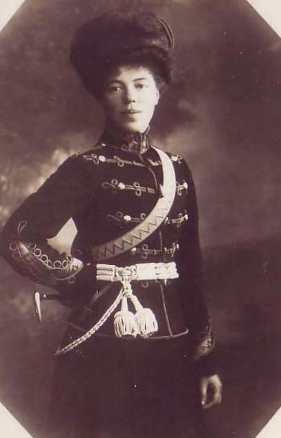 Великая Княжна Ольга - Шеф Ахтырского полка