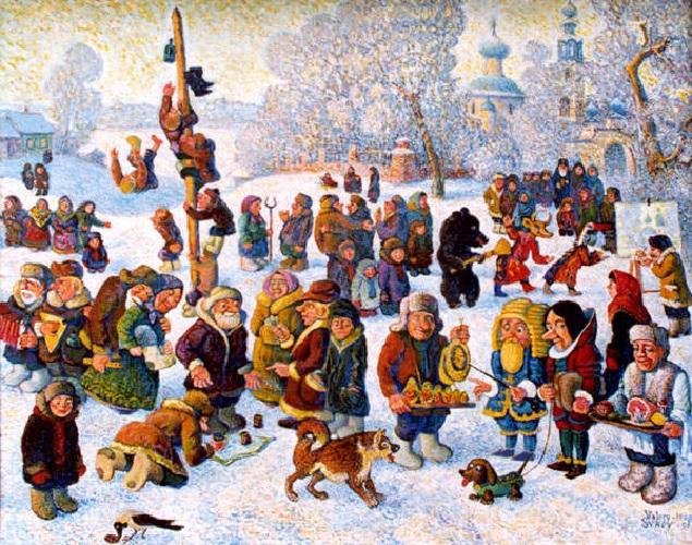 Блины и не только: русские писатели начала XX века о Масленице