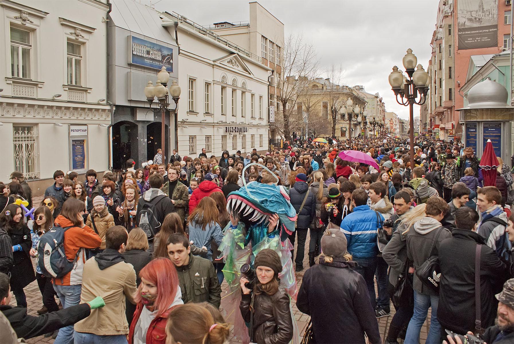 Что посмотреть на улицах москвы