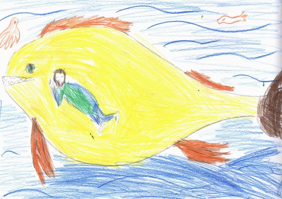 Рисуем пророка Иону