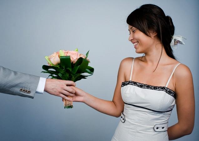 Хочу букет цветов и телефонный звонок