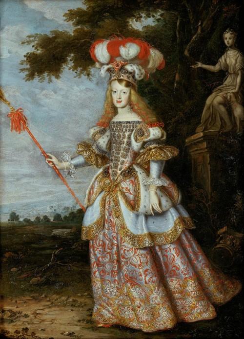 Ян Томас ван Иеперен. Императрица Маргарита Тереза, 1667