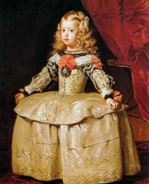 Диего Веласкес. Инфанта Маргарита, 1656.