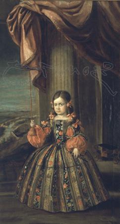 Неизвестный художник. Портрет инфанты Маргариты