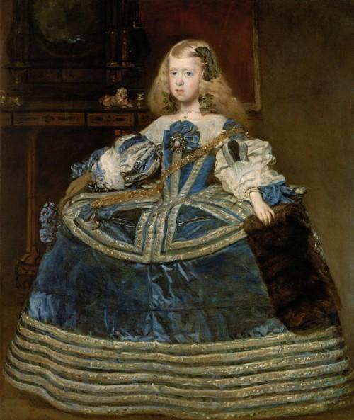 Диего Веласкес. Инфанта Маргарита в голубом. 1659.
