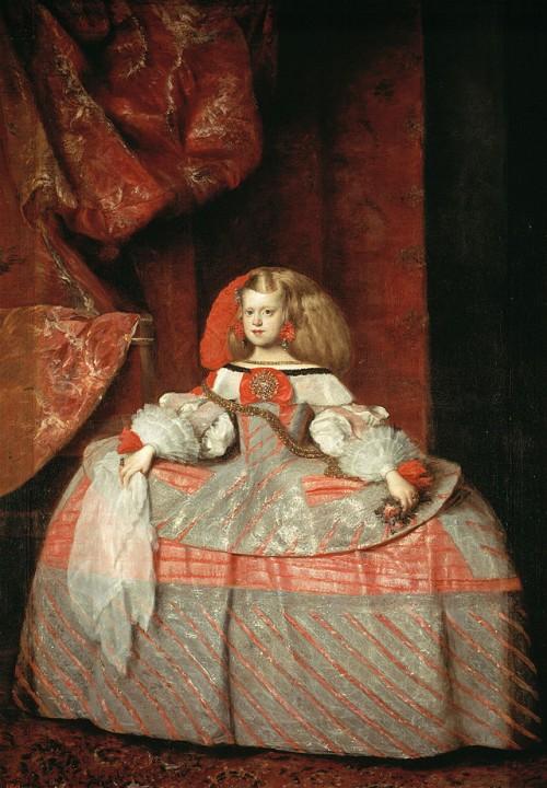 Диего Веласкес. Инфанта Маргарита в розовом, 1660.