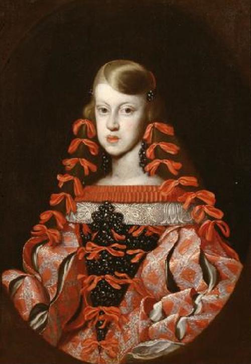 Неизвестный художник. Инфанта Маргарита Тереза, 1662-1664