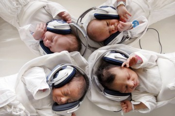 Musical therapy for new-born babies at maternal hospital in Kosice