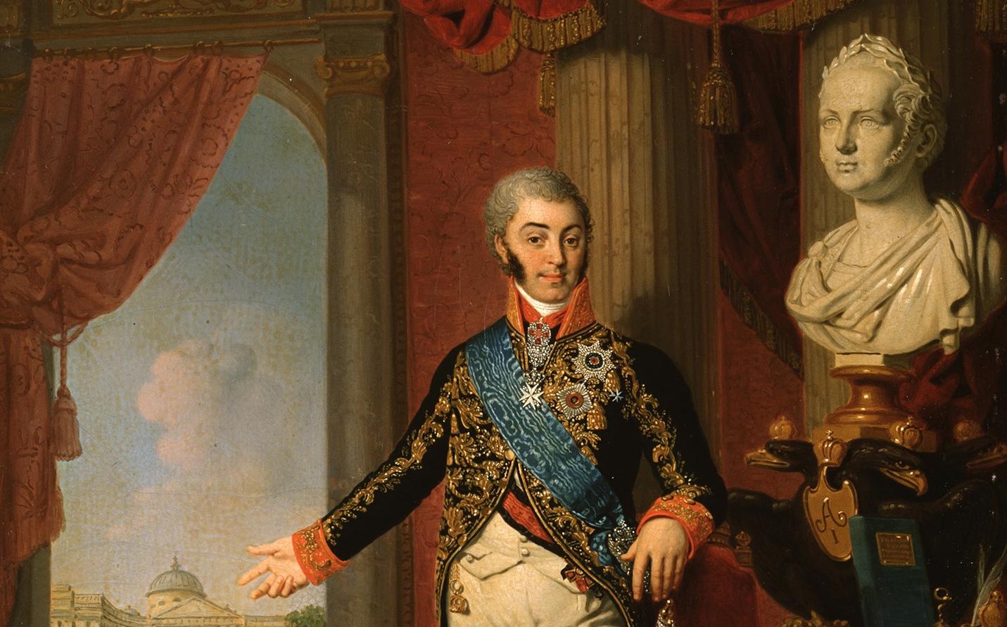 Портрет графа Hиколая Петровича Шереметева