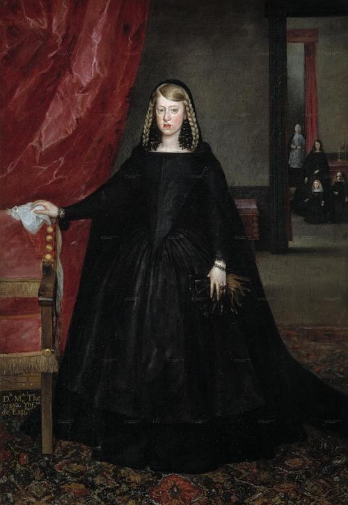 Хуан Баутиста Мартинес дель Масо. Маргарита Австрийская, 1665-1666.