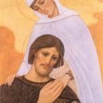 Княгиня Феврония утешает князя Петра