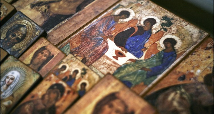 Рублёвская Троица: между образом и символом