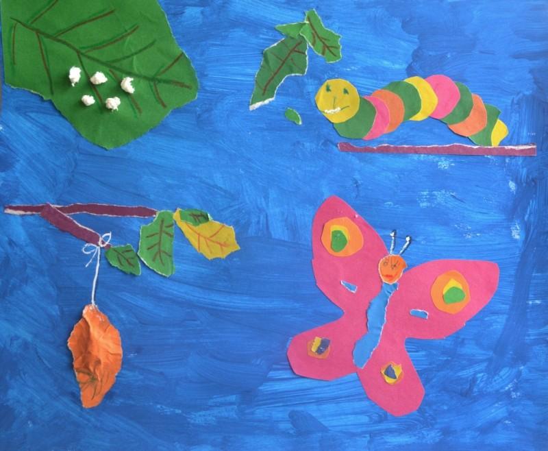 Рисуем превращения бабочки, или Слишком много любви