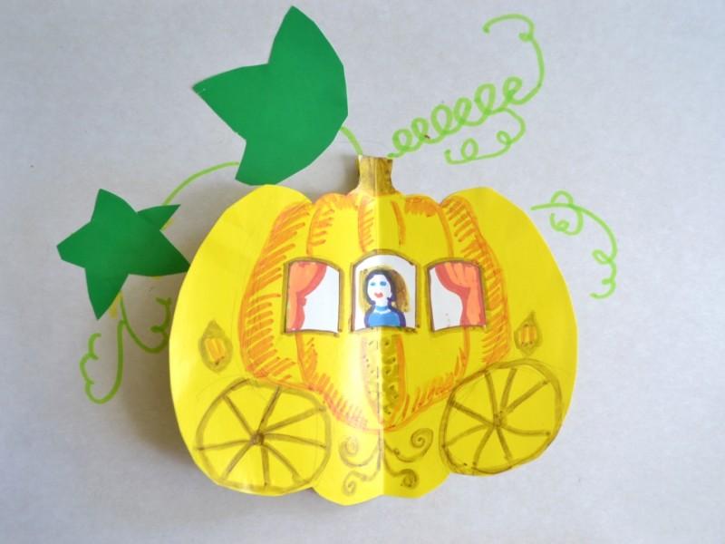 Рисуем карету Золушки, или Осенняя перезагрузка