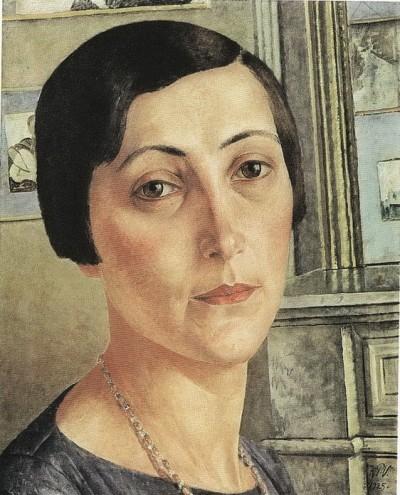 К. Петров-Водкин. Портрет Саломеи Андрониковой, 1925