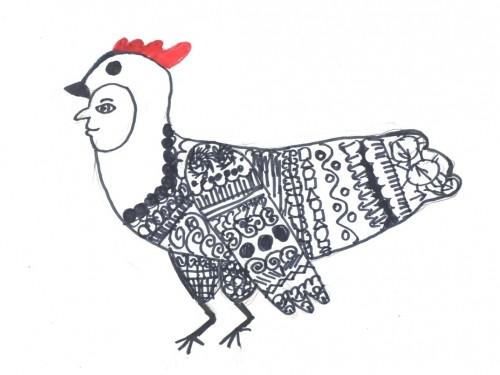 Рисуем Чёрную курицу, или Куда уходит детство