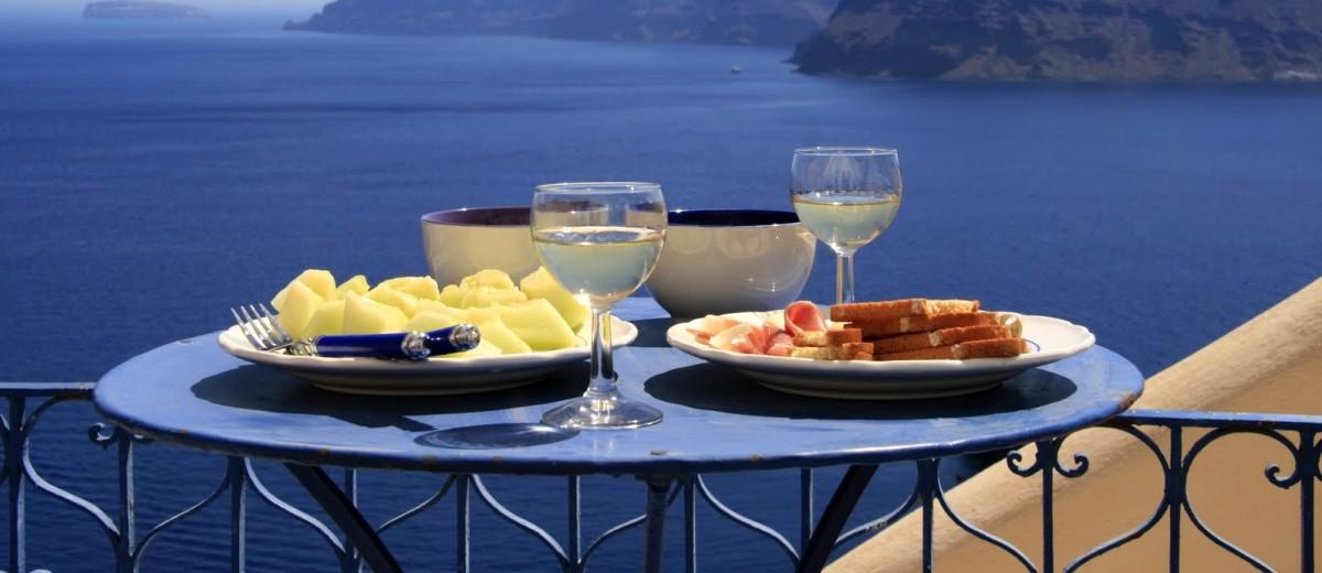 Средиземноморская диета против помоечной еды