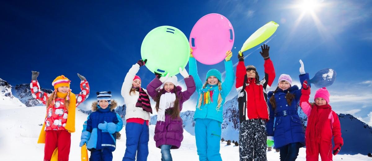 30 идей нескучной зимы с детьми ( конкурс! )