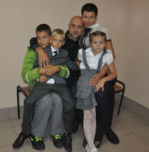 Захар Прилепин: Семейное счастье
