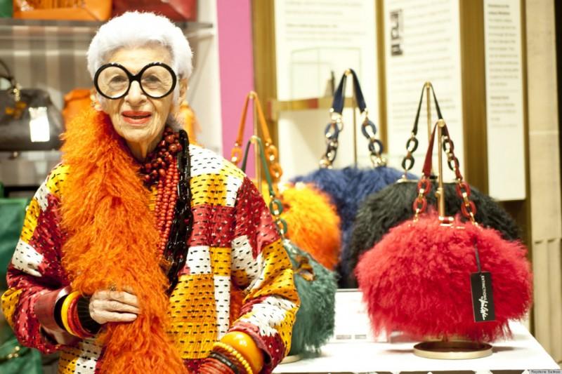 Iris Apfel Handbag Collection Extinction at Henri Bendel