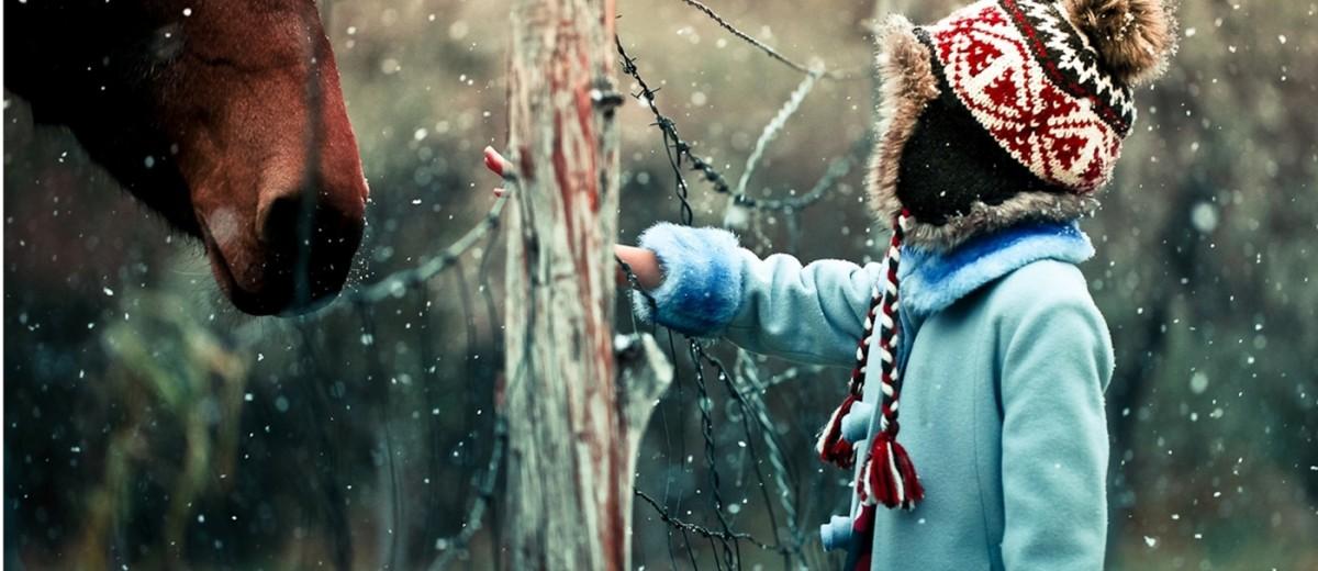 Зима глазами внутреннего ребенка