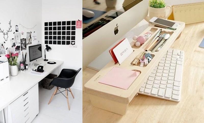 10 идей по благоустройству рабочего места