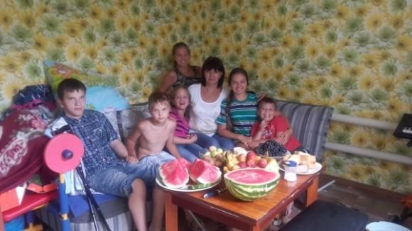 Наталья Кажаева с дет