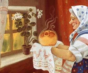 бабка и колобок