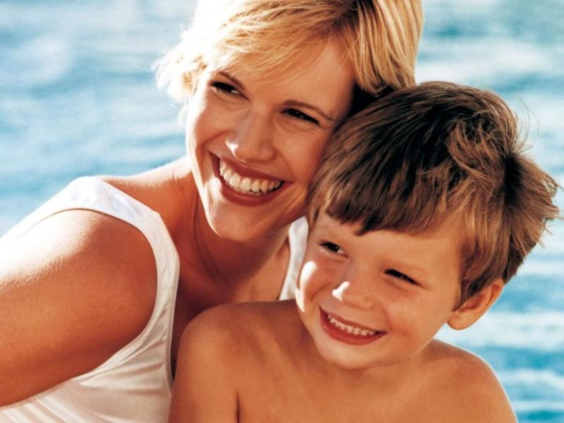 мама и сины фото