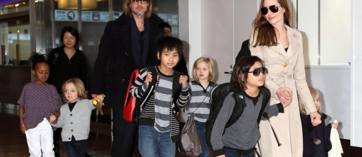 Брэд Питт, Анджелина Джоли и российские приёмные родители Почему мы берём детей в семью