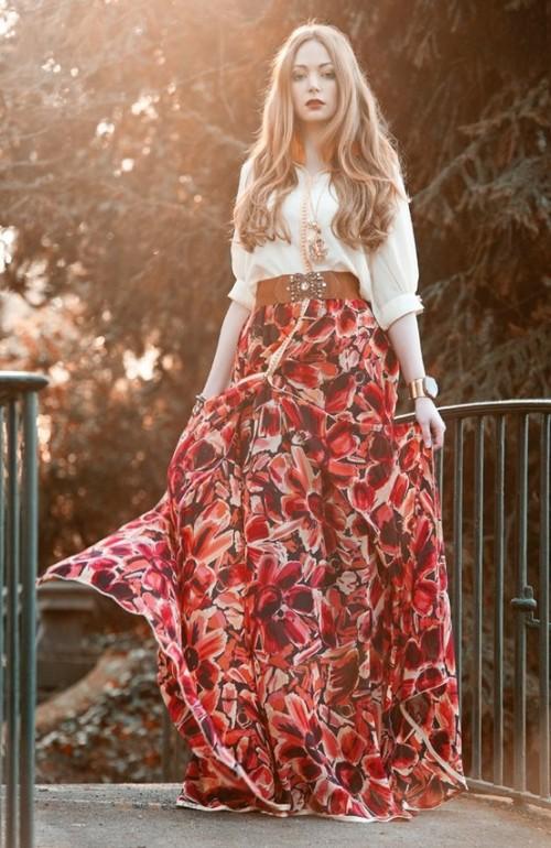 Зачем женщине носить юбку