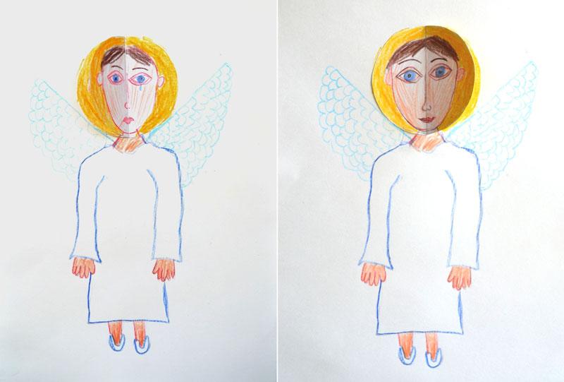 Рисуем ангела, или Изгоняющий любовь страх