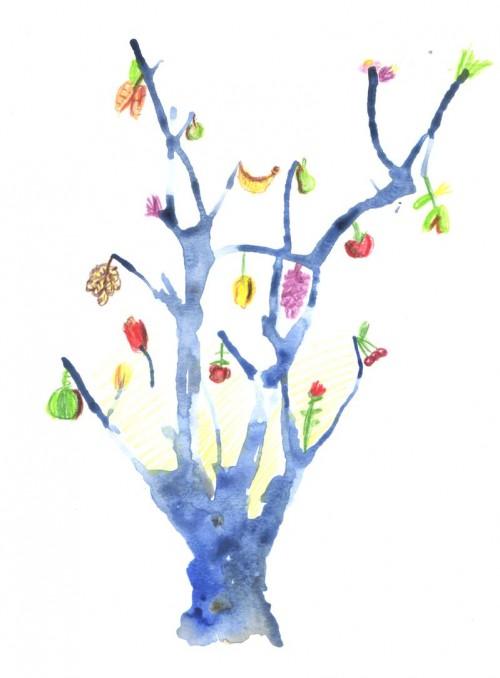 Рисуем волшебное дерево, или Снизойти, чтобы подняться