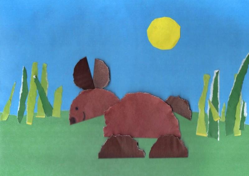 Рисуем медвежонка, или Зачем спорить с родителями