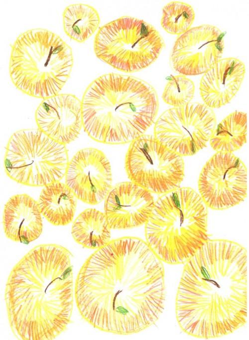 Рисуем золотые яблоки, или Расходящиеся круги познания