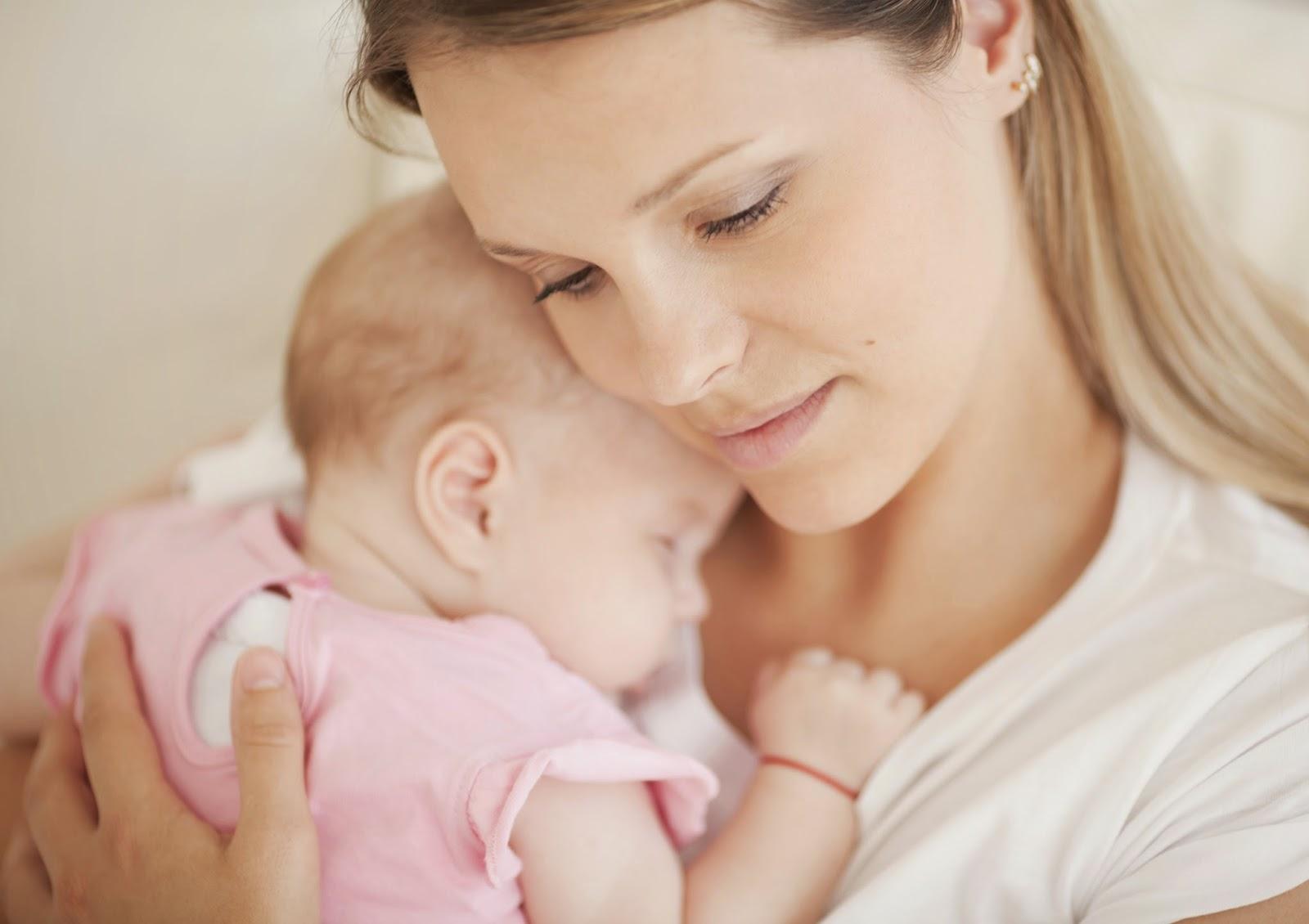 Картинка мамам с малышом